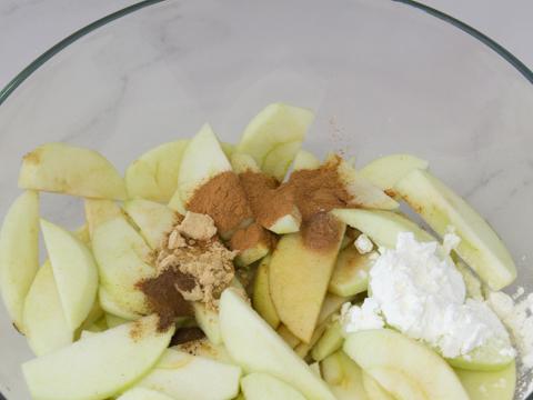 Easiest Free-form Apple Pie