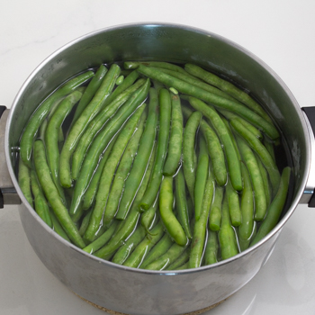 Green Beans - how to (1 of 4)