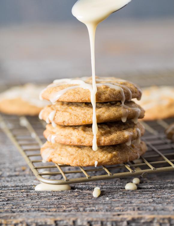 Maple Orange Drop Cookies