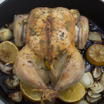 Roasted Chicken - how to (3 of 7)