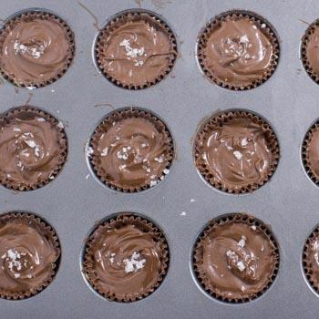 cups in muffin tin