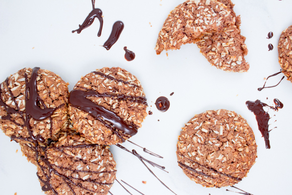 chocolate coconut cookies (2 of 4)