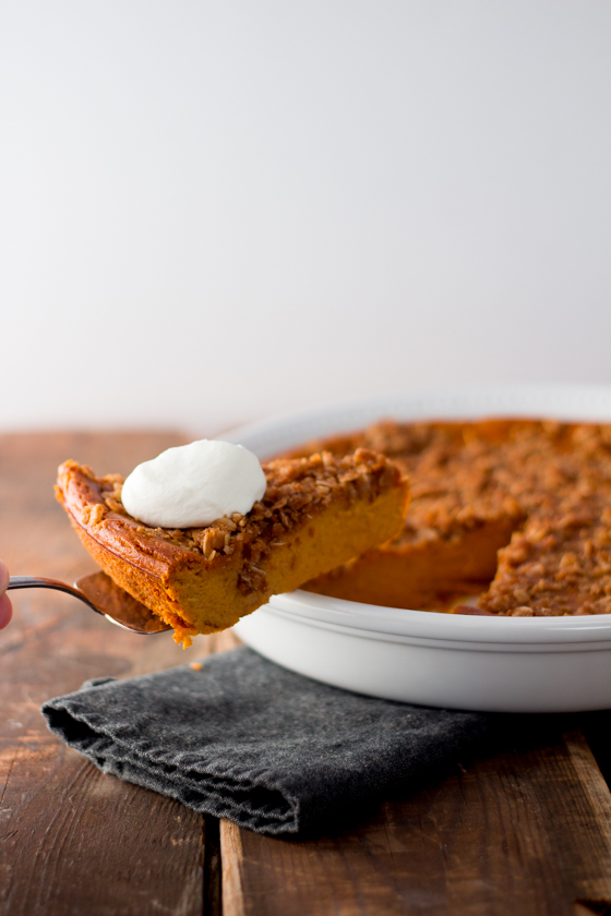 crustless pumpkin pie hero--4